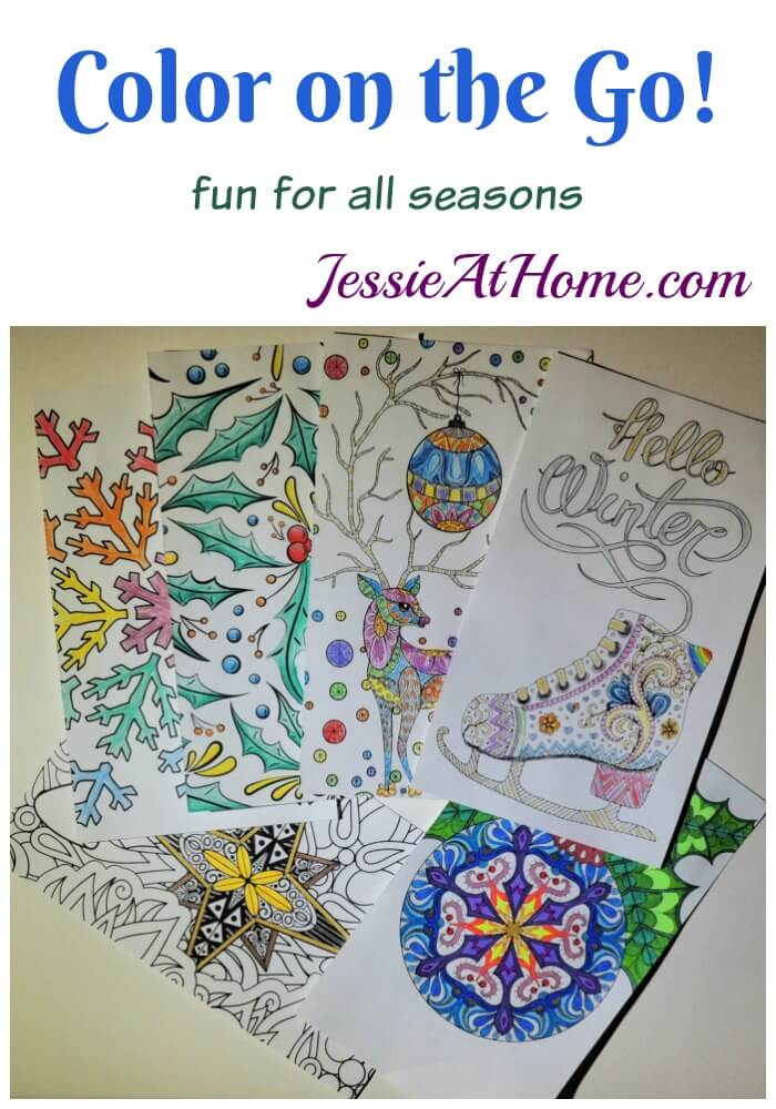 Color on the Go - fun for all seasons - review by Jessie At Home