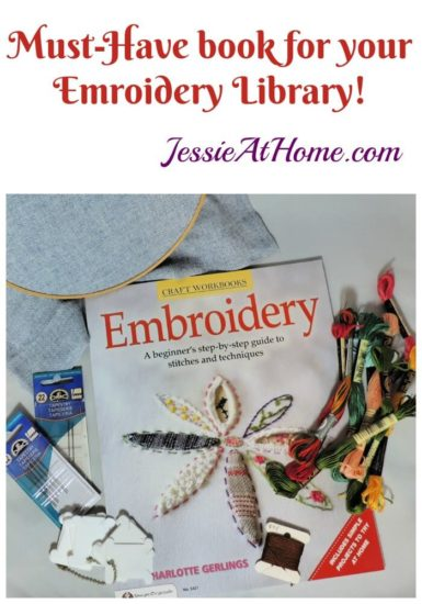 Embroidery A Beginner's Step-by-Step Guide to Stitches and Techniques - book review from Jessie At Home