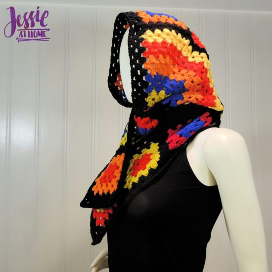 Granny's Hood free crochet pattern by Jessie At Home - 2
