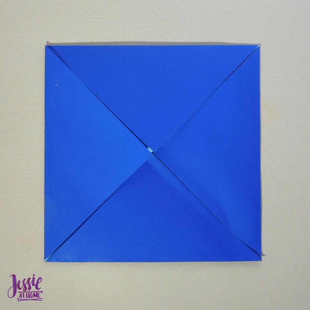 Origami Fortune Teller Step 1