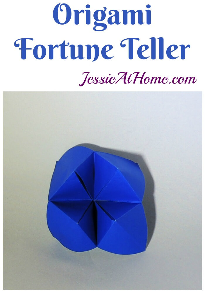 Origami Fortune Teller tutorial from Jessie At Home