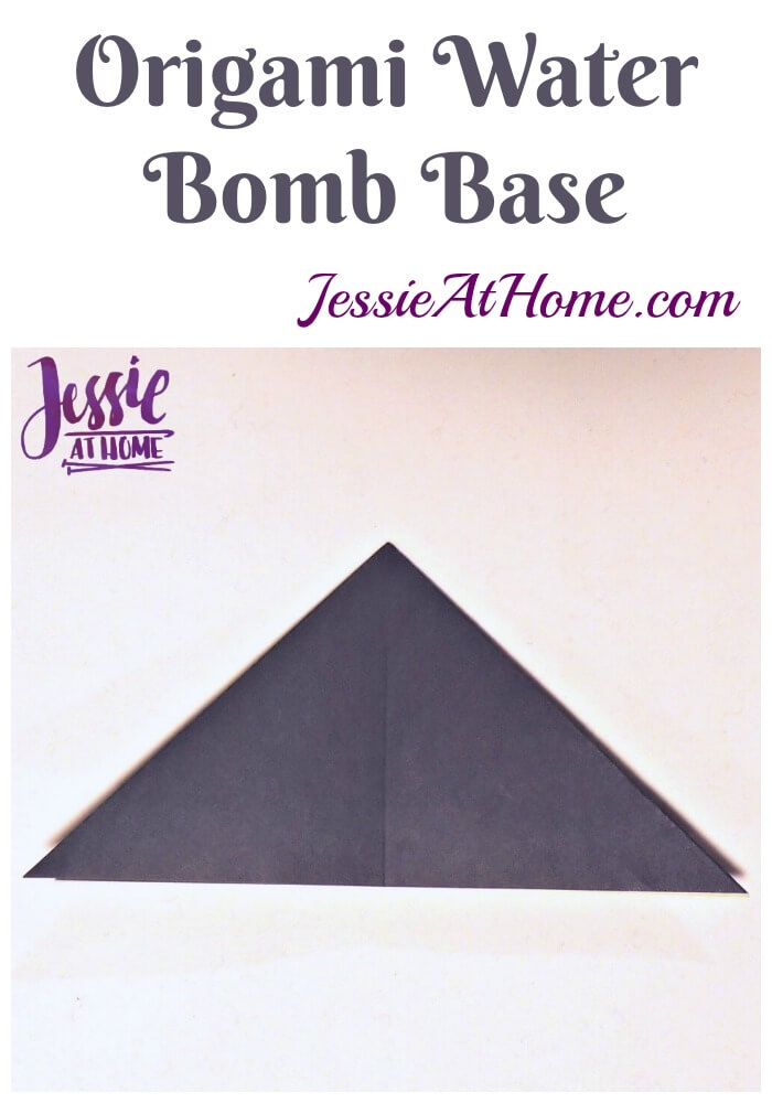 Origami Water Bomb Base - Jessie At Home