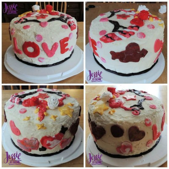 Fondant 101 for Anyone by Jessie At Home - Unicorn Love Cake