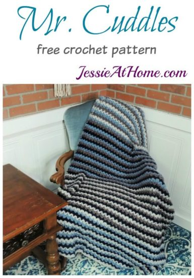 Mr Cuddles free crochet pattern by Jessie At Home