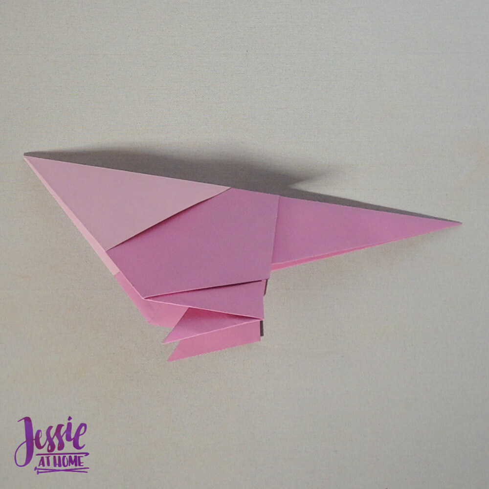 Origami Little Bird Step 10