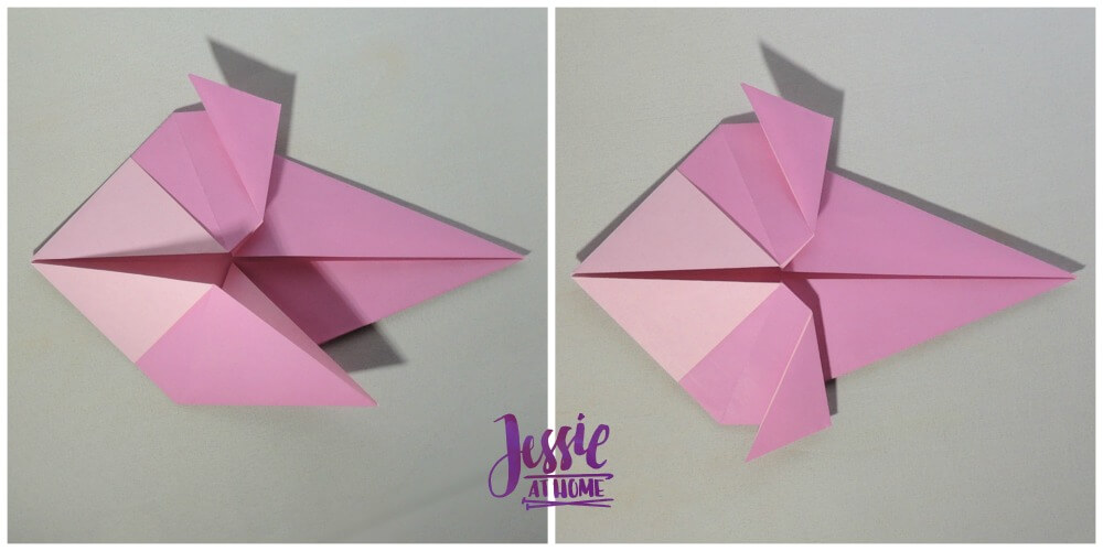 Origami Little Bird Step 7