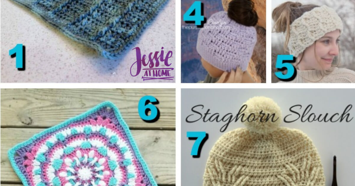 Post Stitch Crochet Patterns What Great Texture Jessie At Home