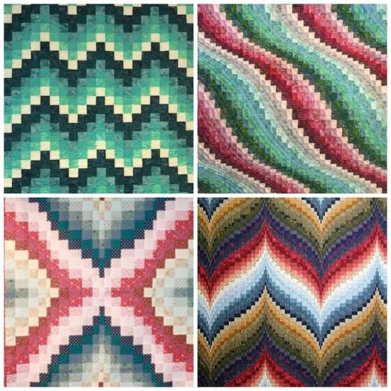 Bargello Knits - book review by Jessie At Home - Bargello Quilts