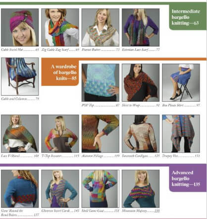 Bargello Knits - book review by Jessie At Home - Projects