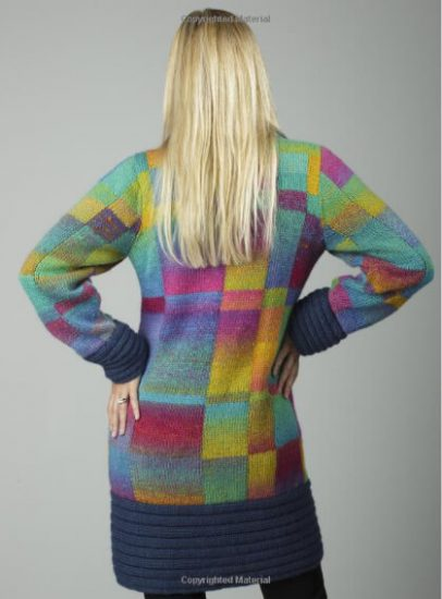 Bargello Knits - book review by Jessie At Home - Sweater