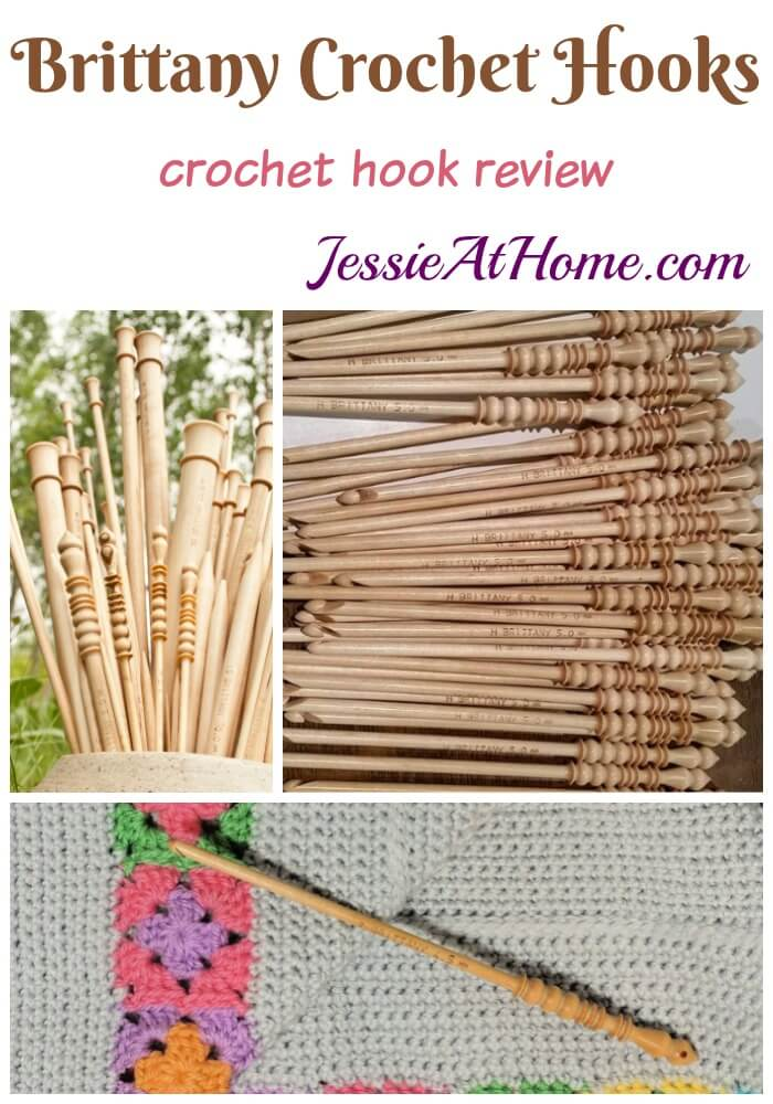 Brittany crochet hook review by Jessie At Home