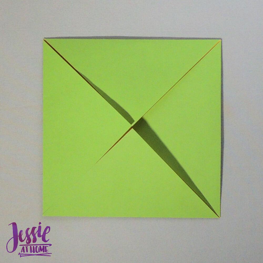 Origami Plain Box Step 1