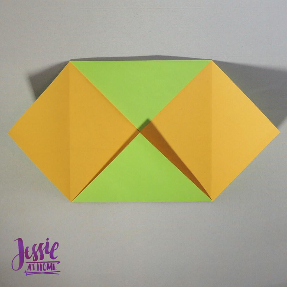 Origami Plain Box Step 2