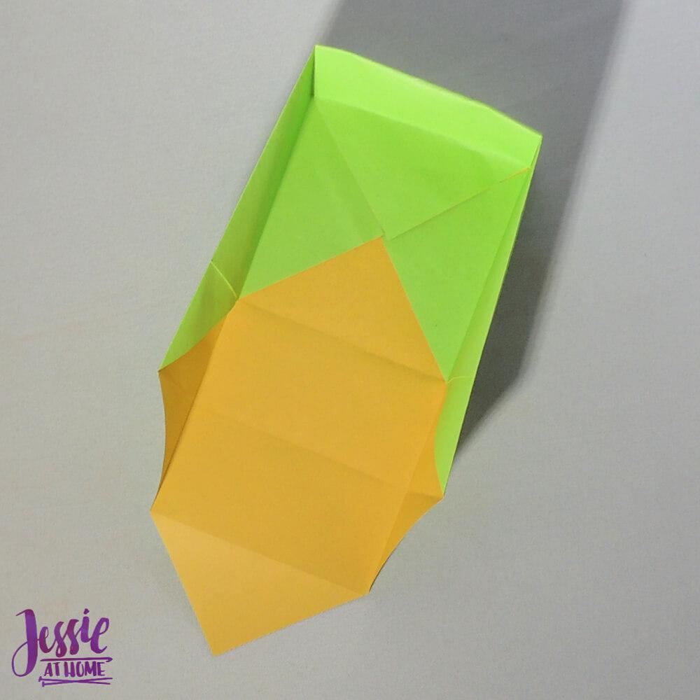 Origami Plain Box Step 8