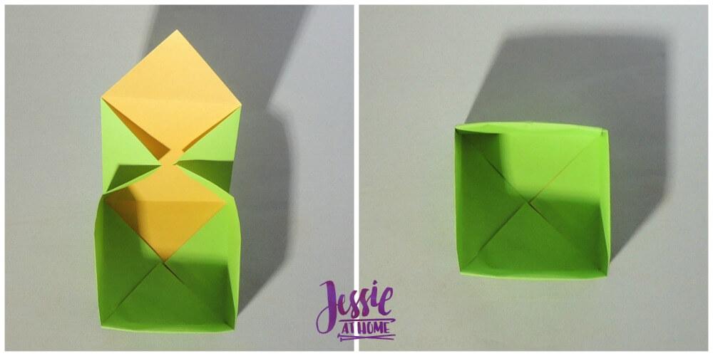 Origami Plain Box Step 9