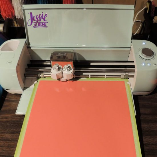 Styletech Vinyl and Tools review and tutorial by JessieAtHome.com 17 - Cut on Vinyl and a half