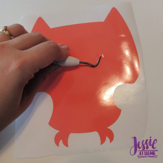 Styletech Vinyl and Tools review and tutorial by JessieAtHome.com 21 - weed image