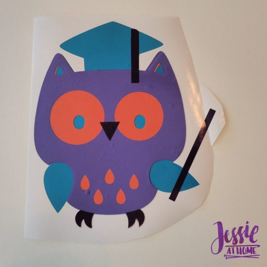 Styletech Vinyl and Tools review and tutorial by JessieAtHome.com 27 - Owl