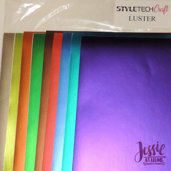 Styletech Vinyl and Tools review and tutorial by JessieAtHome.com 30 - Luster