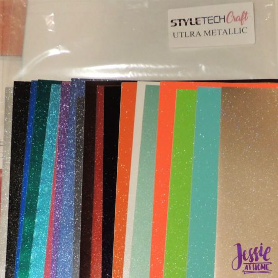 Styletech Vinyl and Tools review and tutorial by JessieAtHome.com 34 - Ultra Metallic
