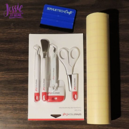 Styletech Vinyl and Tools review and tutorial by JessieAtHome.com Styletech Tools