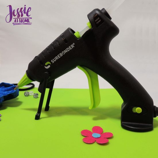 Surebonder Precision Point Glue Gun craft product review from Jessie At Home - don't miss the switch