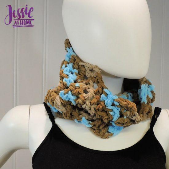 Vivian Crochet Cowl free crochet pattern by Jessie At Home - 2