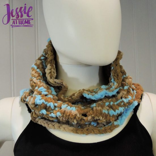 Vivian Knit Cowl free knit pattern by Jessie At Home - 2