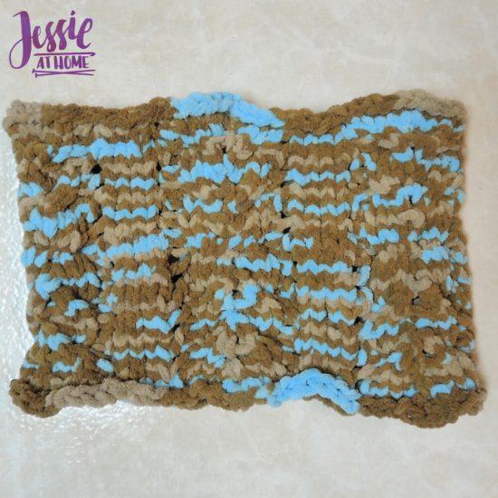 Vivian Knit Cowl free knit pattern by Jessie At Home - 3