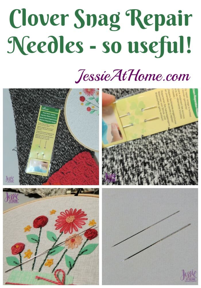 Clover Snag Repair Needles review from Jessie At Home