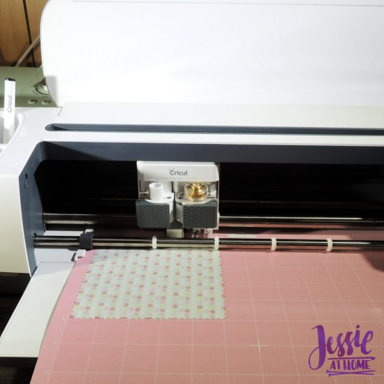 Cricut Maker Getting Started from Jessie At Home - Cutting Fabric