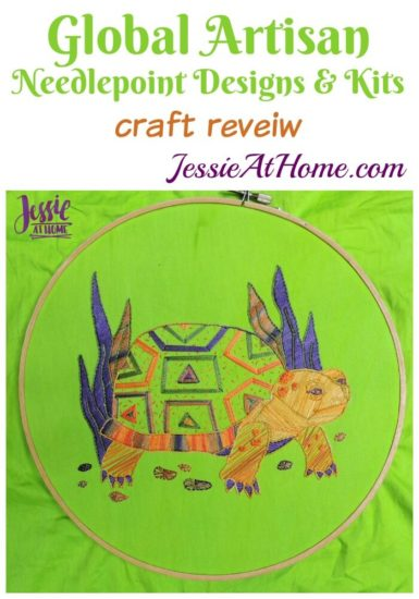 Global Artisan Needlepoint Designs & Kits craft review from Jessie At Home