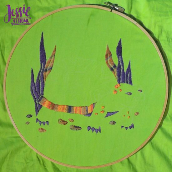 Global Artisan Needlepoint Designs & Kits craft review from Jessie At Home - good start