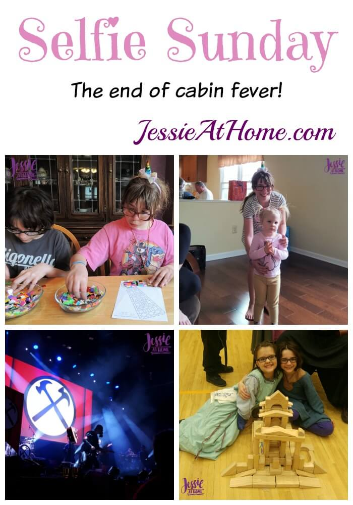 Jessie At Home Selfie Sunday - The end of cabin fever