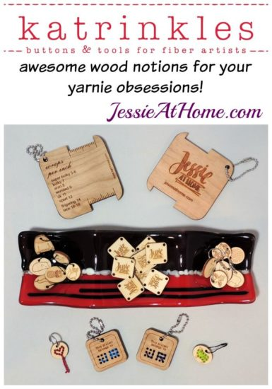 Katrinkles - Awesome wood notions for your yarnie obsession from Jessie At Home