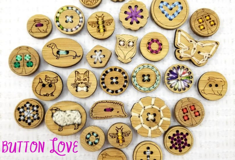 Katrinkles - Awesome wood notions for your yarnie obsession from Jessie At Home - button love