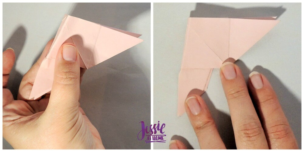 Origami Butterfly Step 10