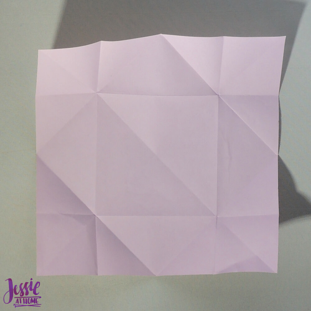 Origami Butterfly Step 3