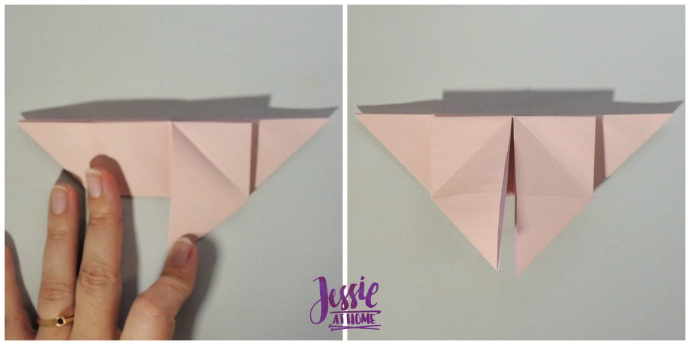 Origami Butterfly Step 7