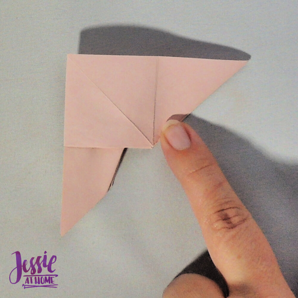 Origami Butterfly Step 9