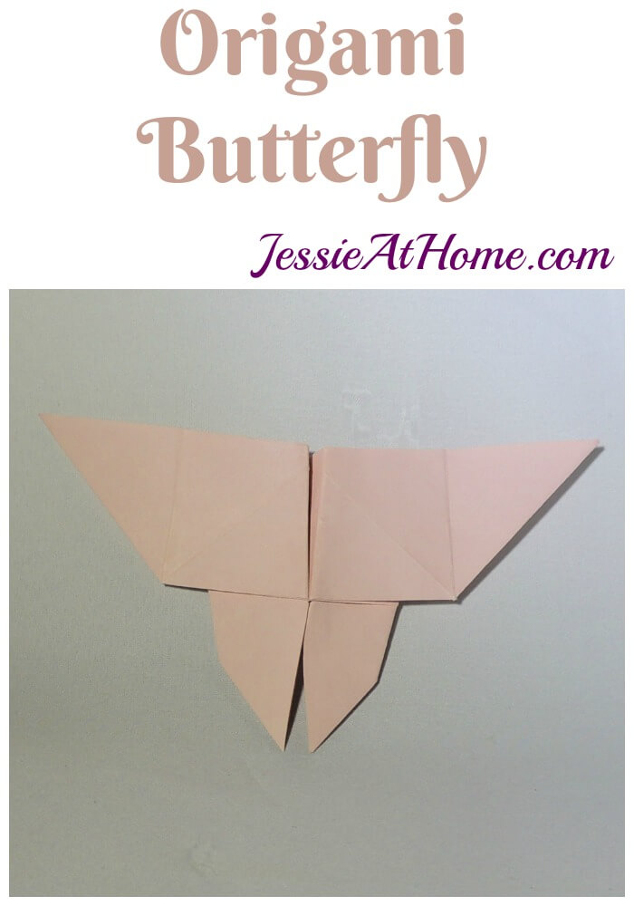 Origami Butterfly tutorial from Jessie At Home