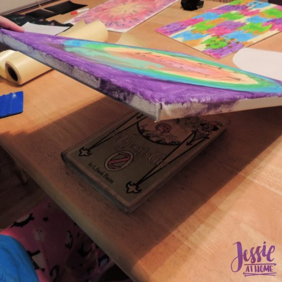 Reverse Image Painting Tutorial by Jessie At Home - No Damage