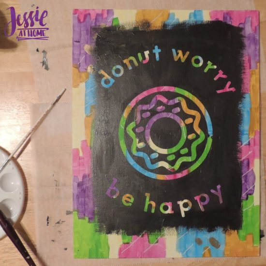 Reverse Image Painting Tutorial by Jessie At Home - Vada's Done