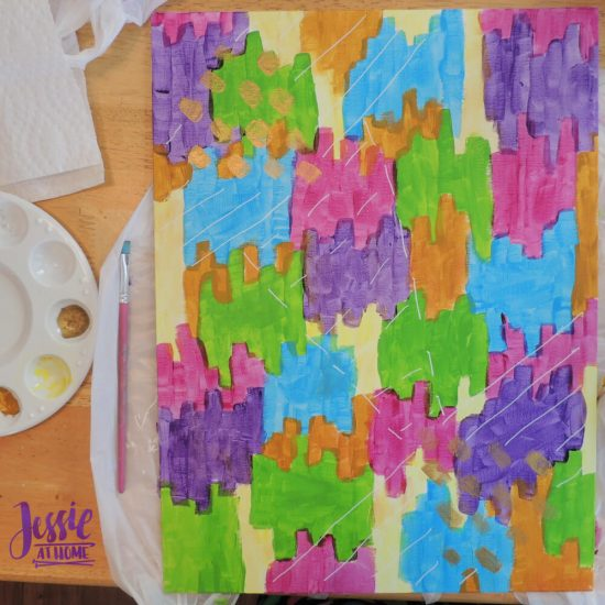 Reverse Image Painting Tutorial by Jessie At Home - Vada's Painting