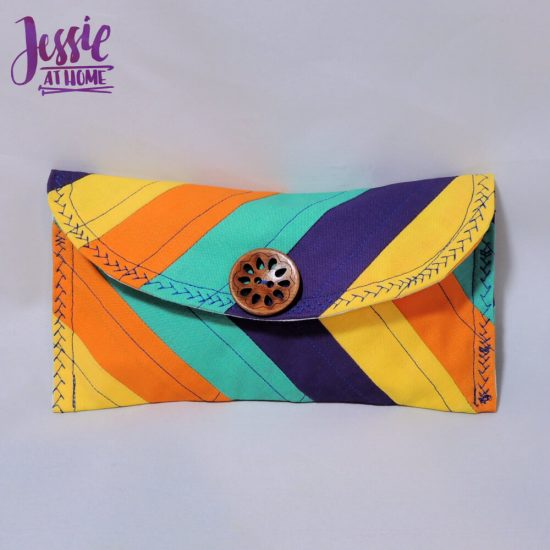 Small Envelope Bag - sewing pattern and tutorial by Jessie At Home - All Done