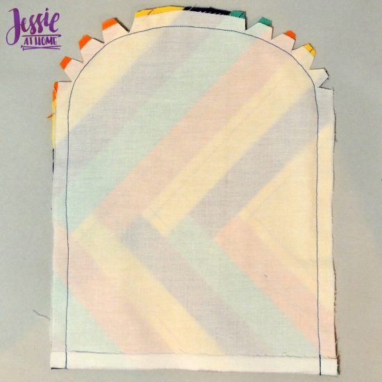 Small Envelope Bag - sewing pattern and tutorial by Jessie At Home - Sew and Clip