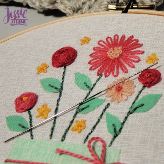 Snag Repair Needles Tutorial by Jessie At Home - embroidery friend
