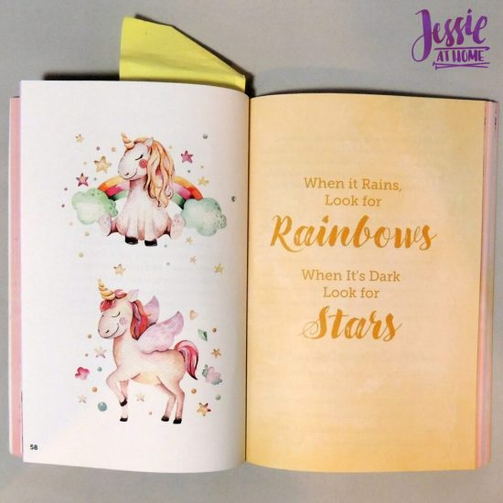 Unicorn Tales - a guided journal review from Jessie At Home - faith