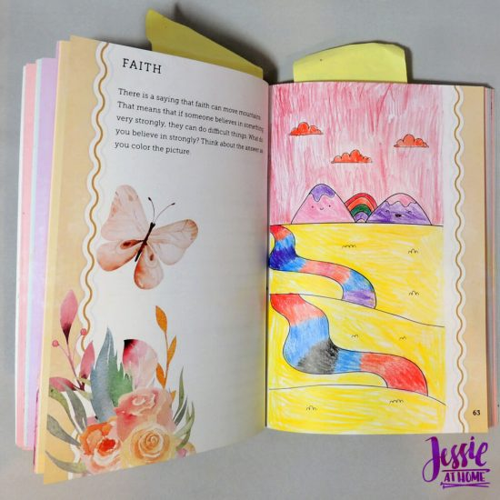 Unicorn Tales - a guided journal review from Jessie At Home - landscape