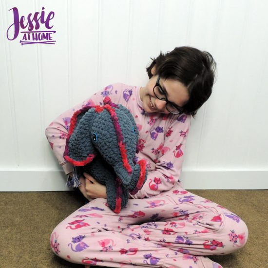 Amir the Elephant free crochet pattern by Jessie At Home - 2